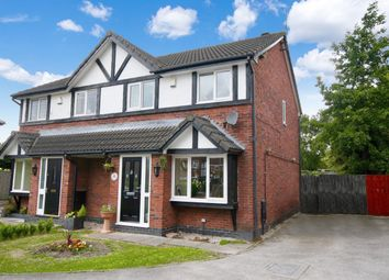 Thumbnail 3 bed semi-detached house for sale in Sheringham Close, Saltney, Chester