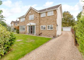 Thumbnail 4 bed detached house for sale in Leadhall Drive, Harrogate, North Yorkshire