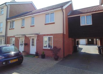 Thumbnail 2 bed end terrace house to rent in Wagtail Drive, Bury St. Edmunds