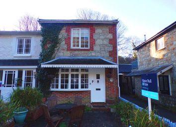 Thumbnail 2 bed semi-detached house for sale in Bonchurch Village Road, Ventnor
