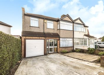 Thumbnail 4 bed semi-detached house for sale in Collins Avenue, Stanmore, Middlesex