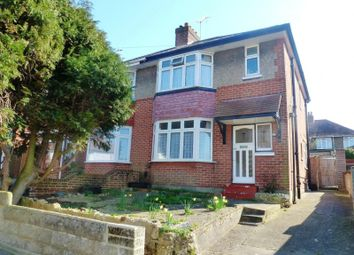 Thumbnail 3 bed semi-detached house to rent in Churchill Crescent, Parkstone, Poole