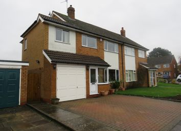 Thumbnail 4 bed semi-detached house for sale in Milton Road, Bentley Heath, Solihull