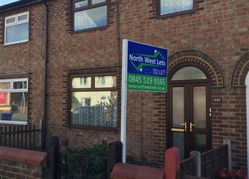 Thumbnail 3 bed terraced house to rent in Lock Villas, Thelwall Lane, Latchford, Warrington