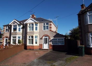 Thumbnail 3 bed semi-detached house for sale in Chesterton Road, Coventry