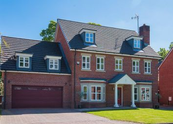 Thumbnail 5 bed detached house for sale in Woodlands Park Close, Wigan