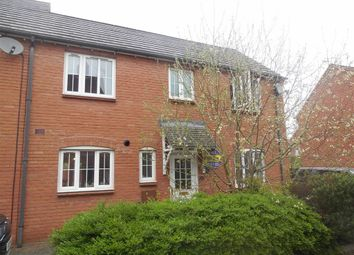 Thumbnail 3 bedroom town house for sale in Bunneys Meadow, Hinckley