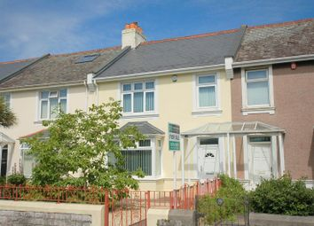 Thumbnail 3 bed terraced house for sale in Milehouse Road, Plymouth
