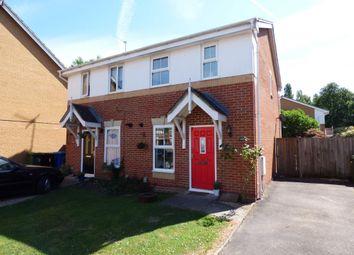 Thumbnail 2 bed semi-detached house for sale in Tarn Close, Farnborough
