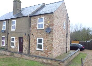 Thumbnail 3 bed semi-detached house to rent in Prickwillow Road, Queen Adelaide, Ely