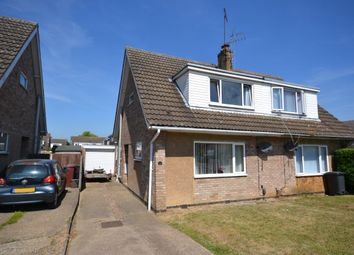 Thumbnail 3 bed semi-detached house for sale in Handley Close, Duston, Northampton