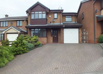 Thumbnail 4 bed detached house for sale in Tidebrook Place, Packmoor, Stoke-On-Trent
