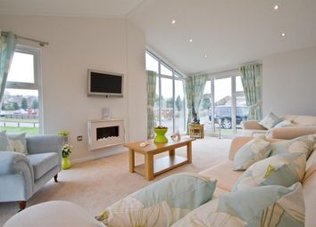 Thumbnail 2 bed lodge for sale in Chickerell Road, Chickerell, Weymouth