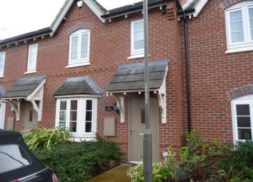 Thumbnail 3 bed town house to rent in Ashford Way, Church Gresley, Swadlincote