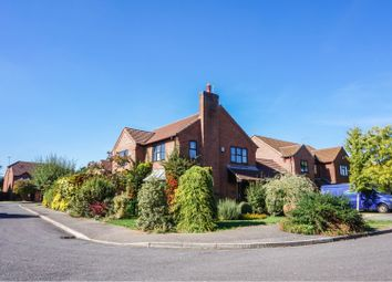 Thumbnail 3 bed detached house for sale in Chesham Drive, Peterborough