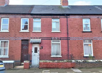 Thumbnail 2 bed terraced house for sale in Florentia Street, Cathays, Cardiff