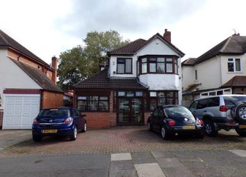 Thumbnail 3 bed detached house for sale in Bushmore Road, Hall Green, Birmingham