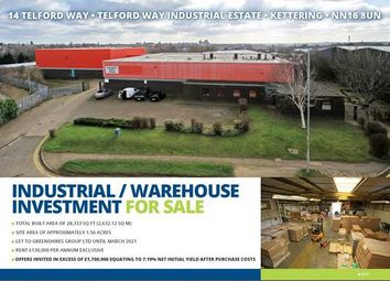 Thumbnail Light industrial for sale in Telford Way, Kettering