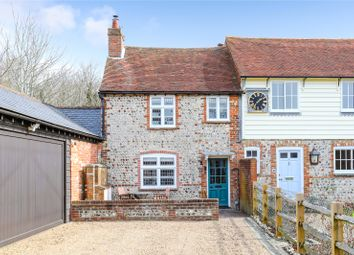 Thumbnail 2 bed terraced house for sale in Grange Farm Cottages, Greenways, Ovingdean, Brighton