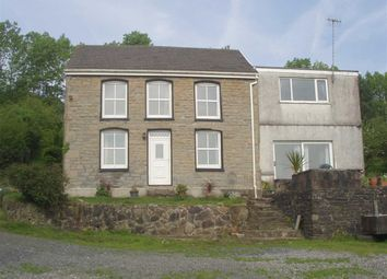 Thumbnail 4 bed farm for sale in Coedffaldau Road, Rhiwfawr, Swansea