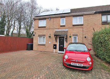 Thumbnail 3 bed semi-detached house for sale in Robinia Close, Danefield, Northampton