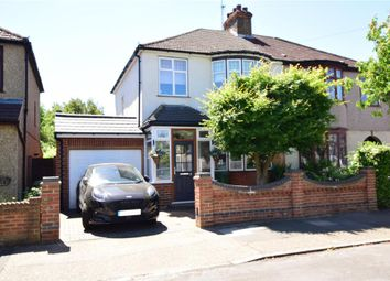 Thumbnail 3 bed semi-detached house for sale in Glebe Way, Hornchurch, Essex