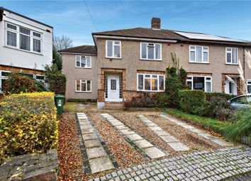 Thumbnail 4 bed semi-detached house for sale in Horley Close, Bexleyheath, Kent