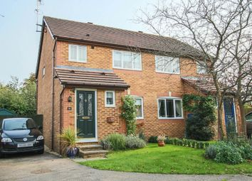 Thumbnail 3 bed semi-detached house for sale in Wheat Croft, Linton, Cambridge