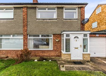 Thumbnail 3 bed semi-detached house for sale in Brafferton Drive, Billingham