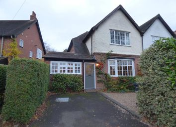 Thumbnail 3 bed semi-detached house to rent in High Brow, Harborne, Birmingham, West Midlands