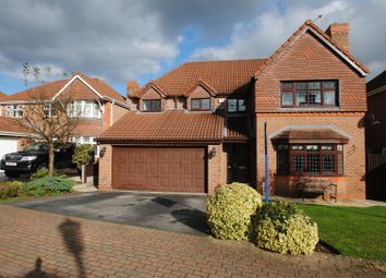 Thumbnail 4 bed detached house for sale in Pinners Fold, Norton, Runcorn