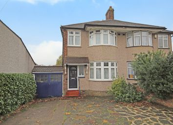Thumbnail 3 bed semi-detached house for sale in Lingfield Crescent, Falconwood, London
