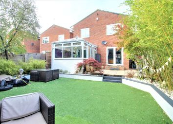 Thumbnail 4 bed detached house for sale in Woodlands Close, Blackwater, Camberley, Hampshire