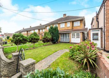Thumbnail 3 bed end terrace house for sale in Rainham Road, Rainham