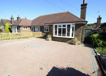 Thumbnail 3 bedroom semi-detached bungalow for sale in Danecourt Close, Bexhill-On-Sea