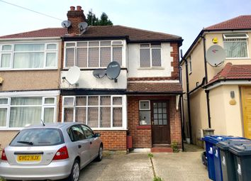 Thumbnail 1 bed maisonette to rent in Woodend Gardens, Northolt, London