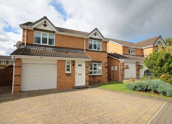 Thumbnail 4 bed detached house for sale in Nenthead Close, Great Lumley, Chester Le Street