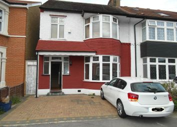 Thumbnail 4 bed semi-detached house to rent in Kenilworth Gardens, Ilford