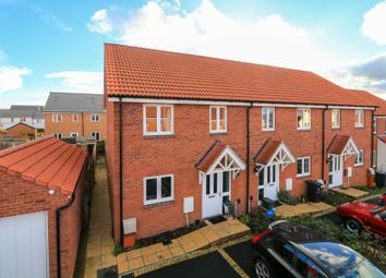 Thumbnail 3 bed end terrace house for sale in Inner Westland, Cranbrook, Exeter