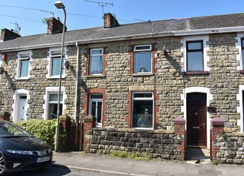 Thumbnail 2 bed terraced house for sale in Cemetery Road, Bridgend