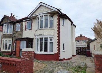 Thumbnail 4 bed semi-detached house to rent in Lyddesdale Avenue, Thornton-Cleveleys