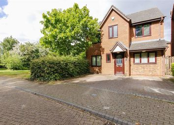 Thumbnail 5 bed detached house for sale in Bickleigh Crescent, Furzton, Milton Keynes, Bucks