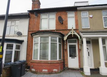 Thumbnail 3 bed terraced house for sale in Stratford Road, Hall Green, Birmingham