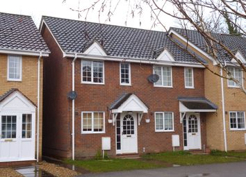 Thumbnail 2 bedroom end terrace house to rent in Glover Close, Sawston, Cambridge