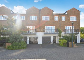 Thumbnail 4 bed terraced house to rent in Princes Riverside Road, London