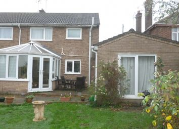 Thumbnail 4 bed semi-detached house for sale in Wood Street, Doddington, March