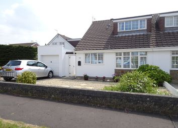 Thumbnail 3 bed semi-detached bungalow for sale in Austin Avenue, Newton, Porthcawl