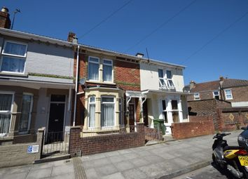 Thumbnail 3 bed terraced house for sale in Catisfield Road, Southsea