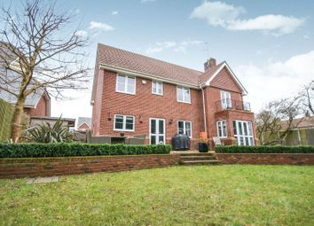 Thumbnail 5 bed detached house for sale in Hammarsfield Close, Standon