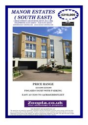 Thumbnail 2 bedroom flat for sale in Fisgard Court, Admirals Way, Gravesend Kent